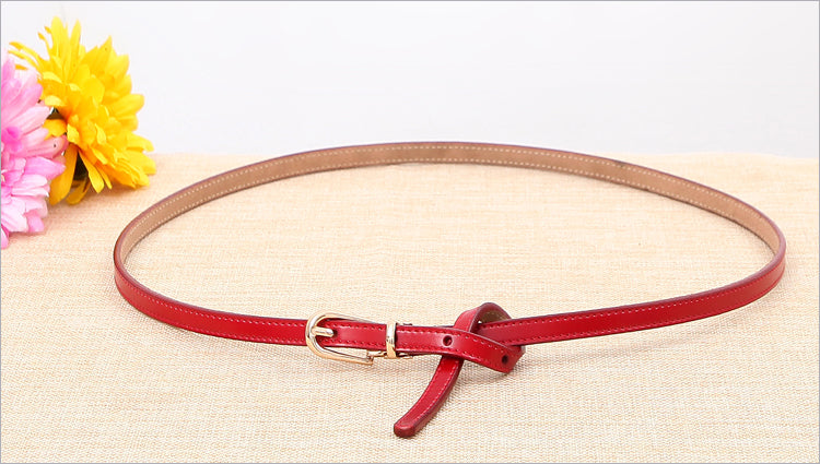 Brand 100% Genuine Leather Pin Buckle Vintage Belt