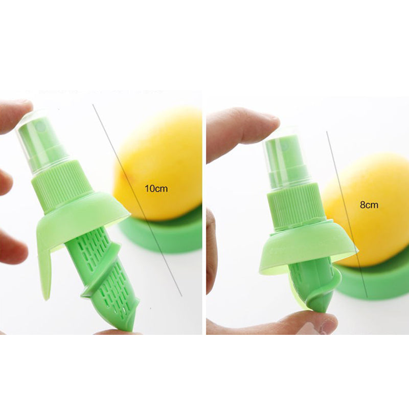 2pcs/Set Lemon & Orange Squeezers & Reamers Spray Kitchen Tools