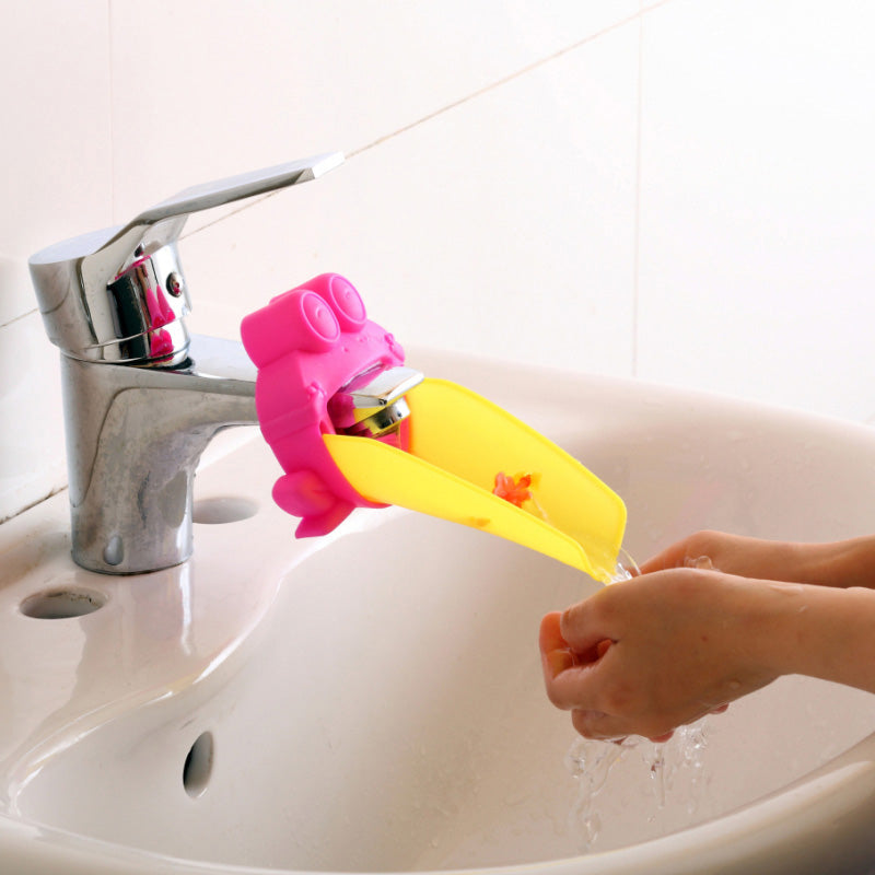 Water Chute Faucet Extender For Children Hand Washing Helper
