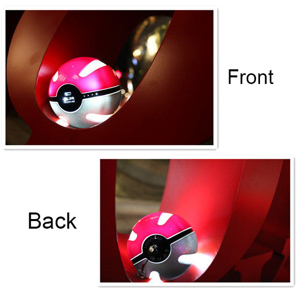 Cute 10000mah Pokeball Go Plus Power Bank