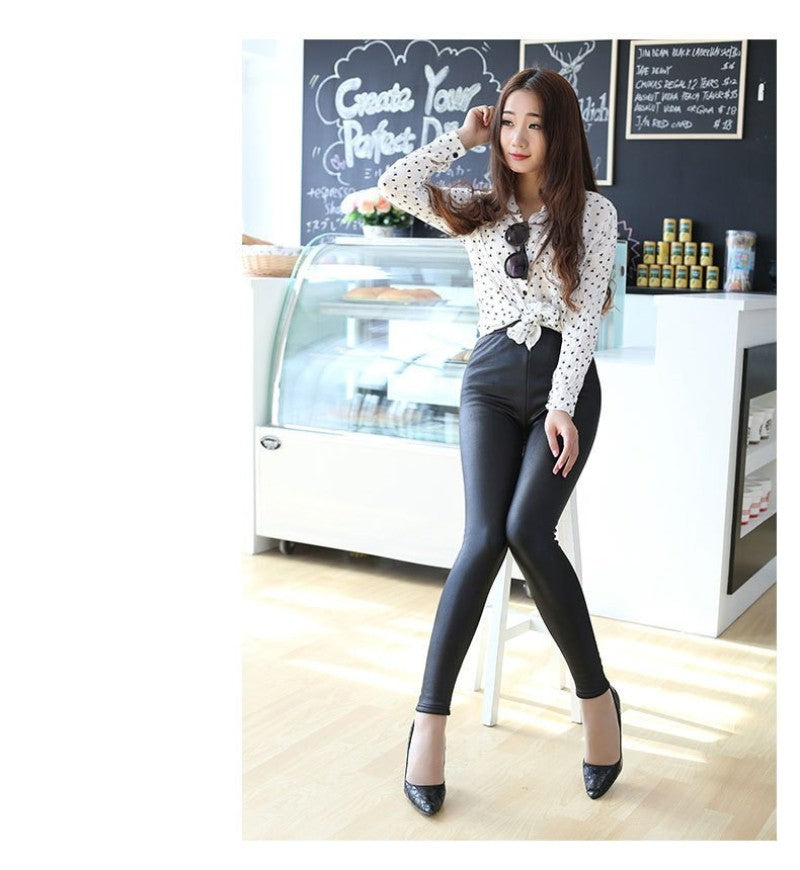 Hot Fashion Thickening Warm Leggings With Velvet Stretch