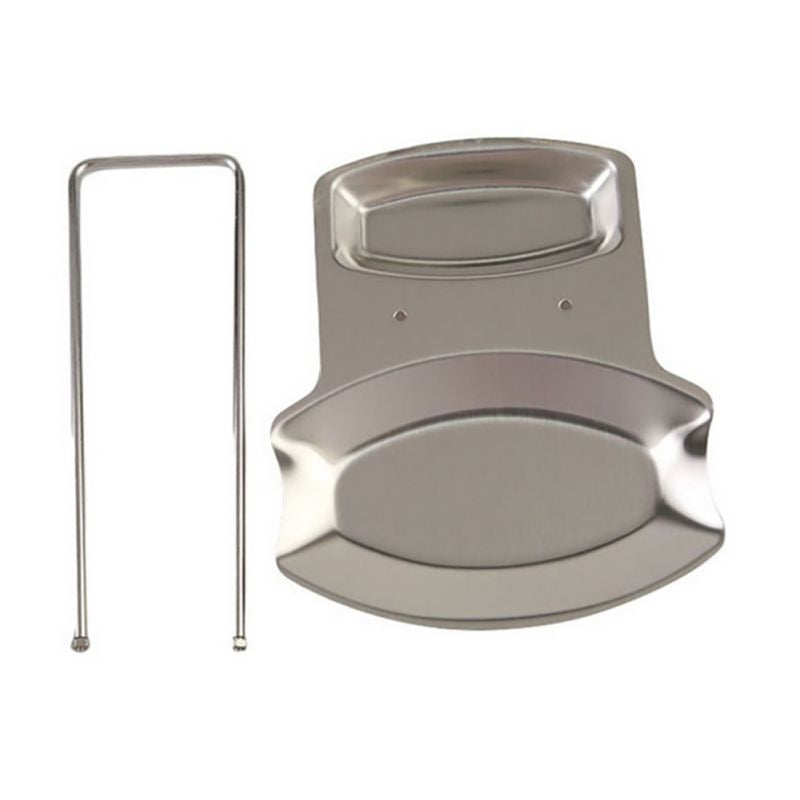 Creative Removable Stainless Steel Spoon Pan Pot Cover Lid Rack Stand