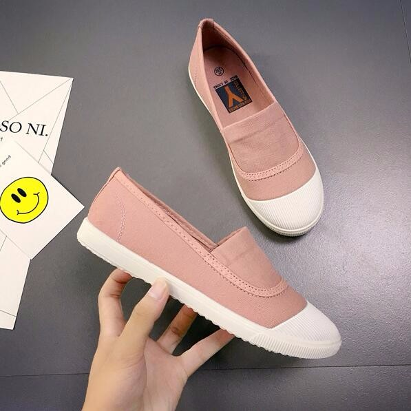 Casual Flat Breathable Comfortable Canvas Shoes