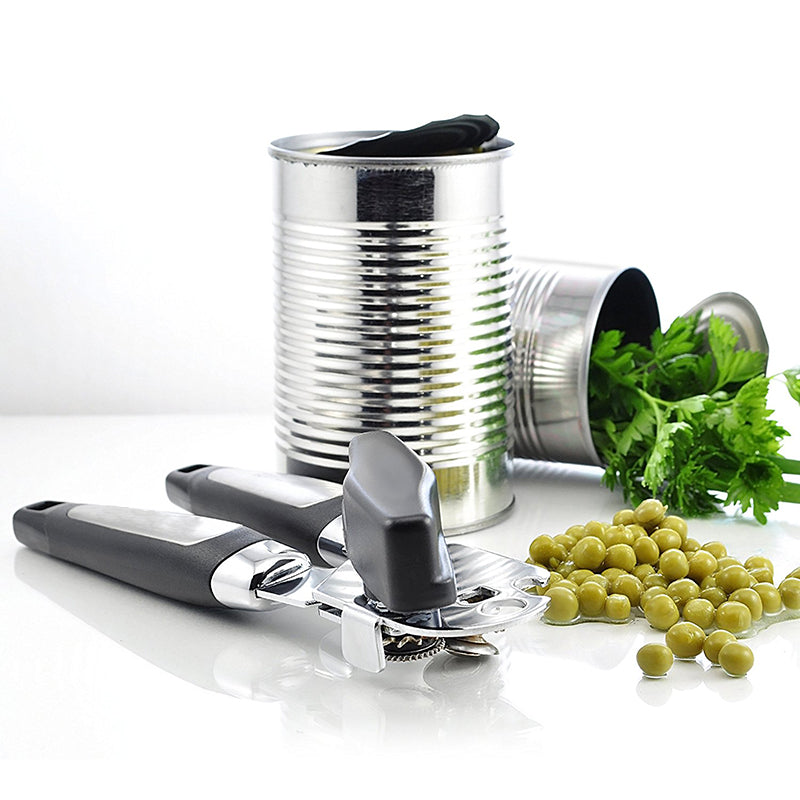 Professional Ergonomic Manual Stainless Steel Cans Opener