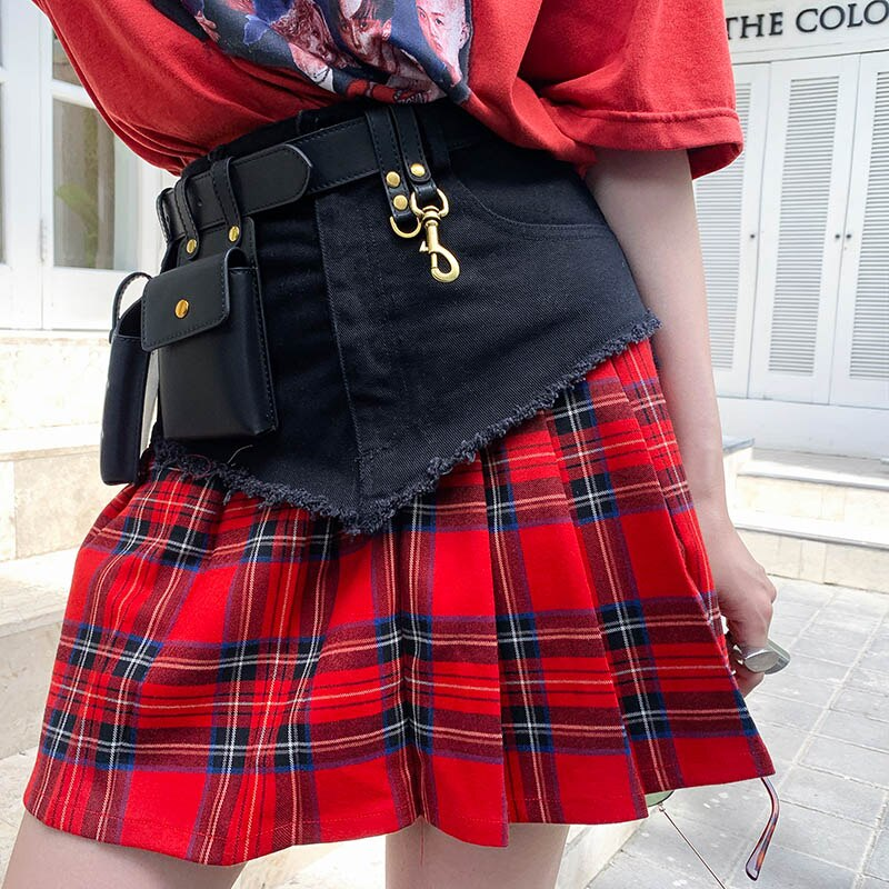 Luxury Leather Women's Black Waist Belt Bag