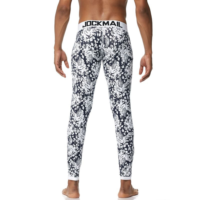 Low Rise Thicken Thermal Men Long Johns