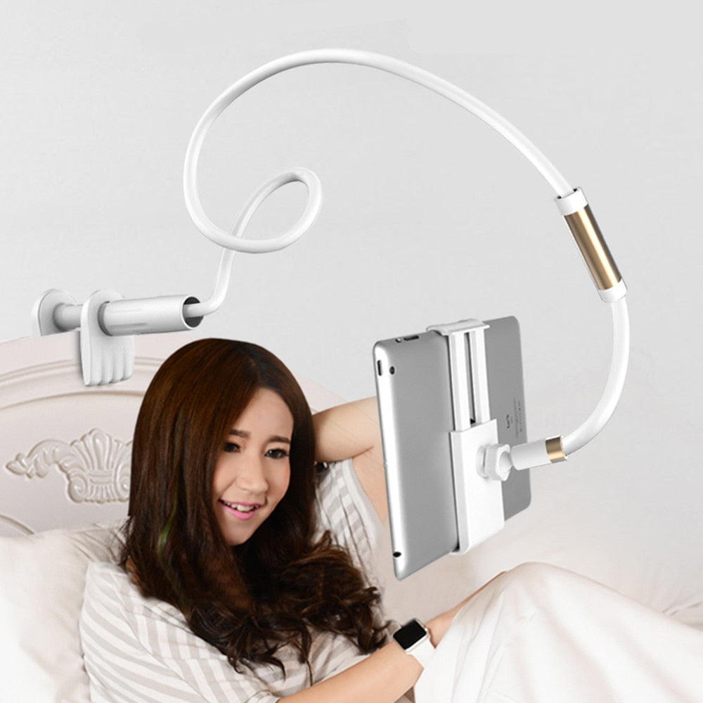 Universal Adjustable Long Arm Tablet & Phone Stand Holder
