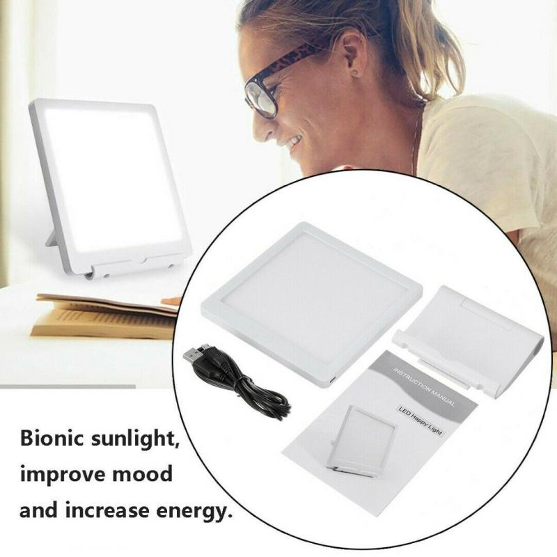 LED Happy Day Mood & Sunlight Therapy Lamp For Depression
