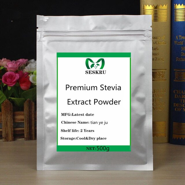 100% Pure Organic Stevia Extract Powder