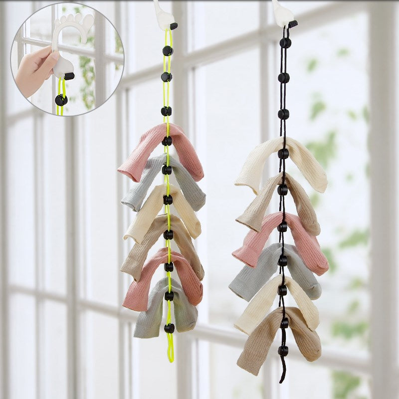 Creative Socks Partner Drying Hanging Rack