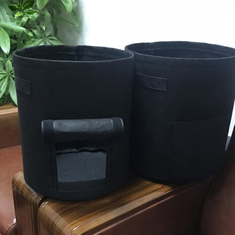 Black Potato Pot & Plant Grow Bags