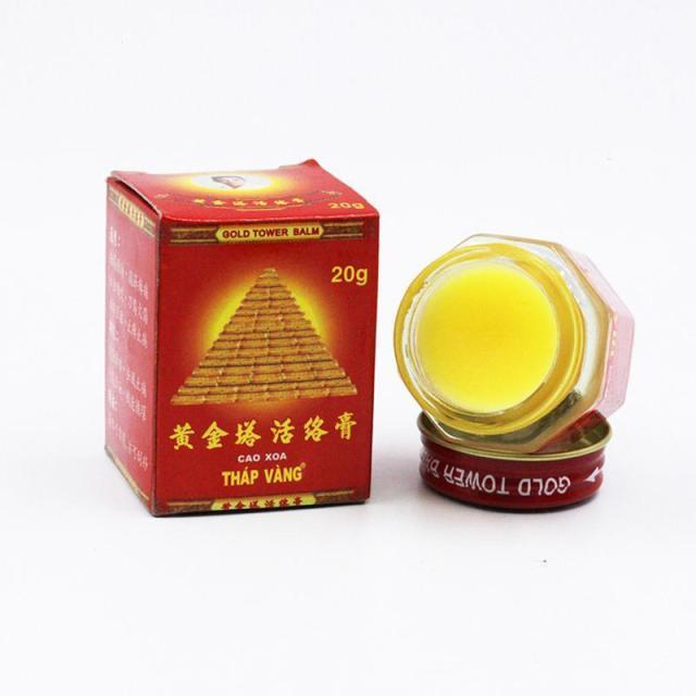 Pain Relief & Muscle Joints Rheumatism Vietnam Gold Tower Balm