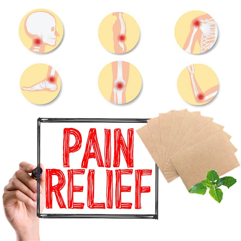 Back Neck Joint Relief Pain Chinese Tiger Balm Patches