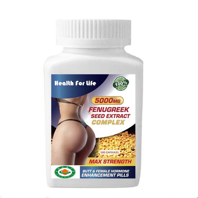 Bigger Bum & Butt Enlargement Fenugreek Seed Extract Complex
