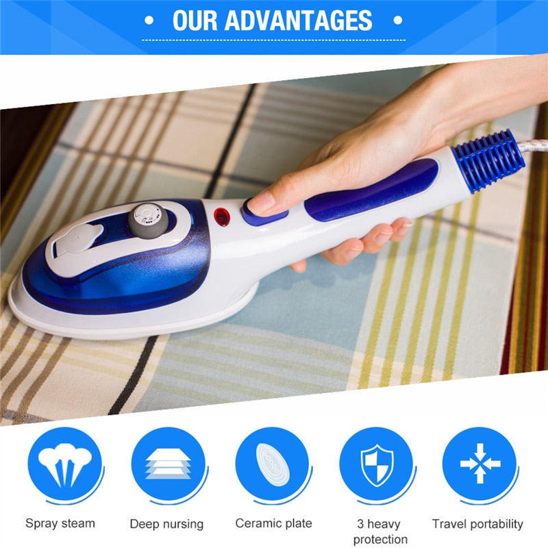 Portable Multi-Function Handheld Steam Iron Engine