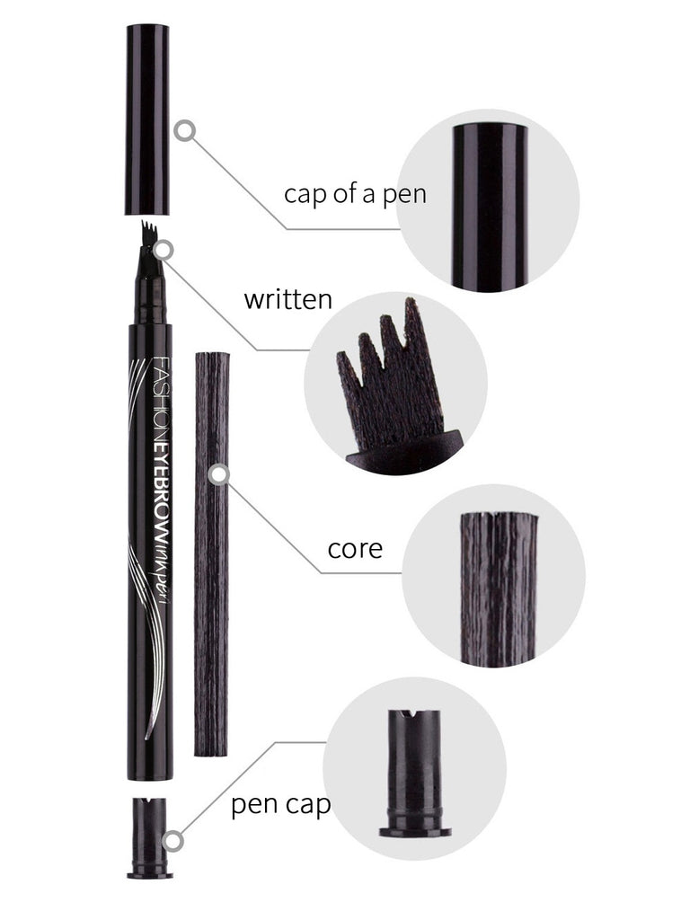 Waterproof Natural Four-claw Eyebrow Pen
