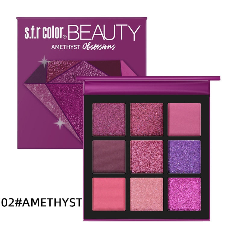 Shimmer & Shine Glitter Matte Eyeshadow Makeup Pallete
