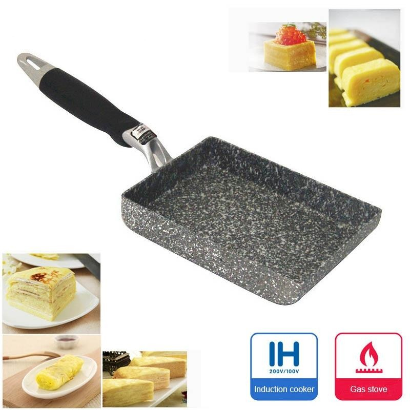 Non-Stick Aluminum Alloy Mini Square Frying Pan