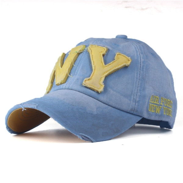 Unisex Embroidery Cotton Baseball Cap