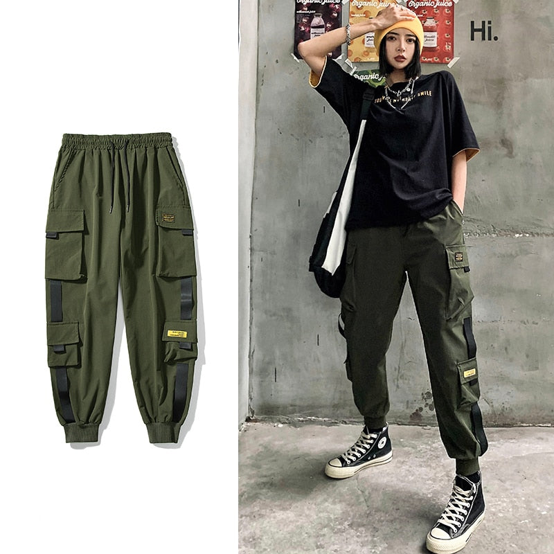 Elastic Waist Korean Style Pencil Women's Pant