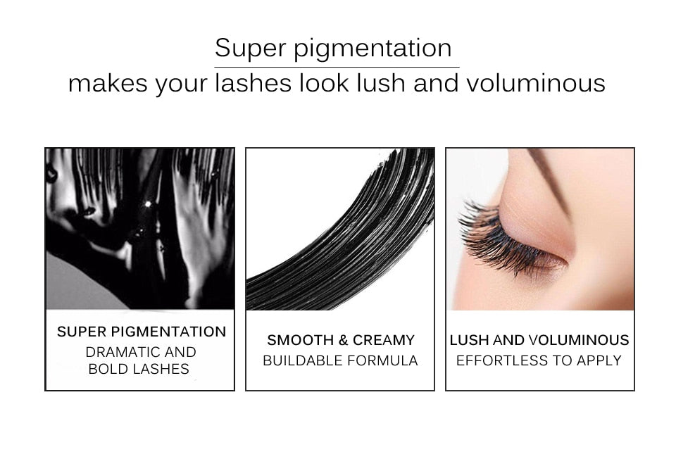 Waterproof Fluffy Volume 4D Silk Fiber Lash Mascara