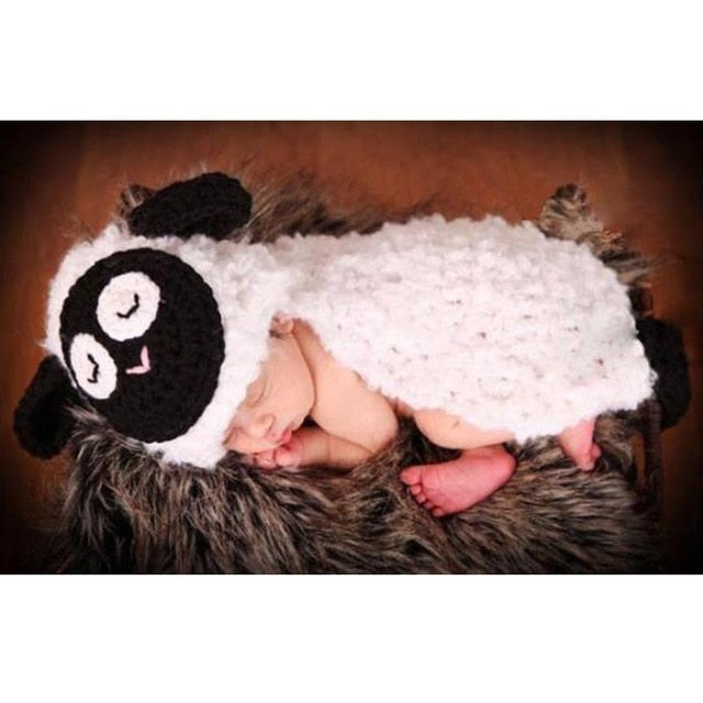 Handmade Crochet Newborn Photography Props