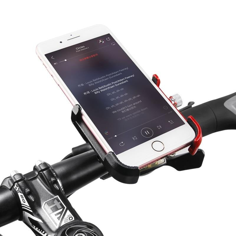 Shockproof Aluminum Alloy Bike Phone Holder