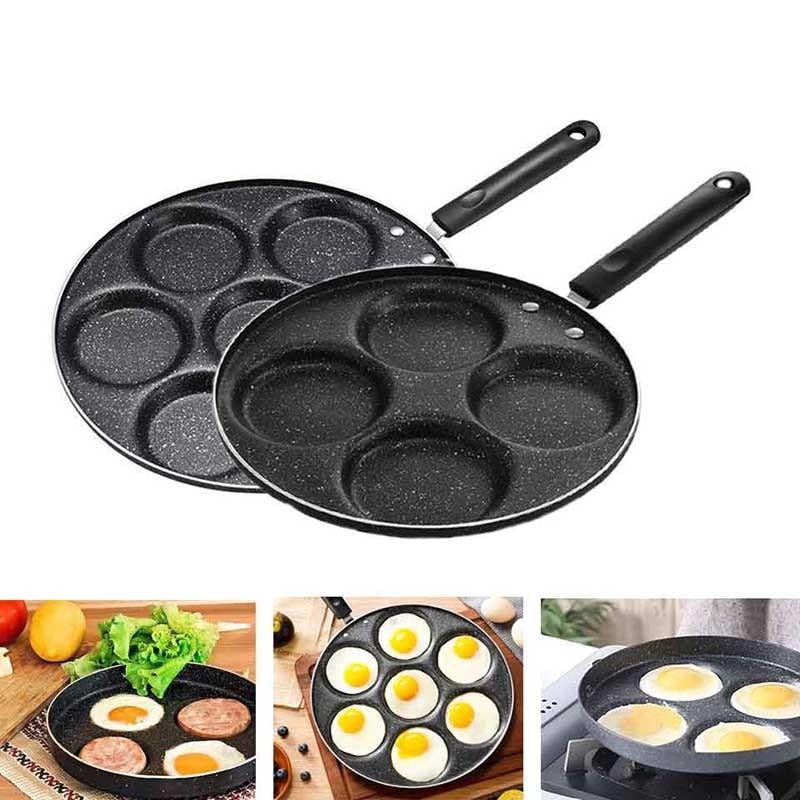 Non-Stick Four-Hole Pan