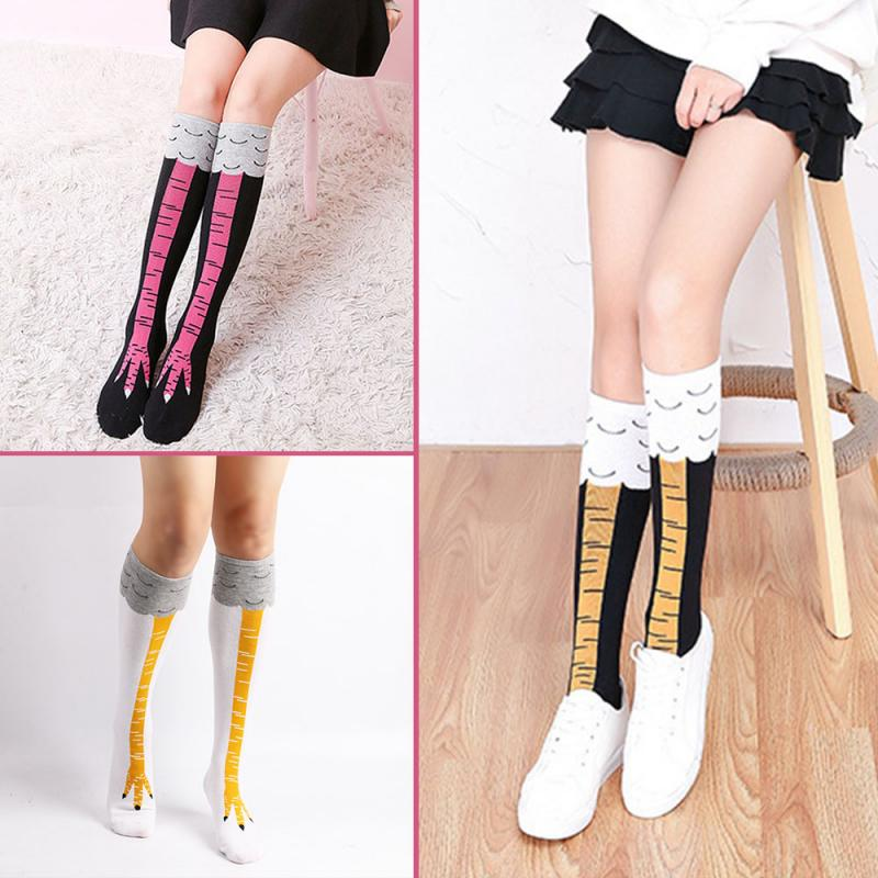 Funny Soft 3D Chicken Feet Socks