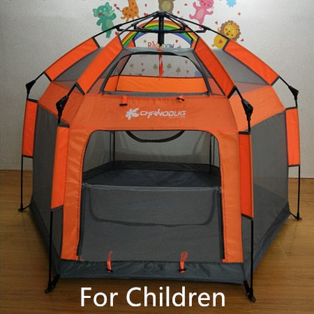 Portable Quick Assembly Outdoor & Indoor Play Tent For Kids