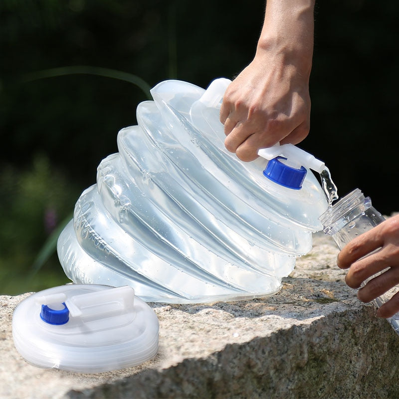 Portable Non-Toxic Foldable Water Bag