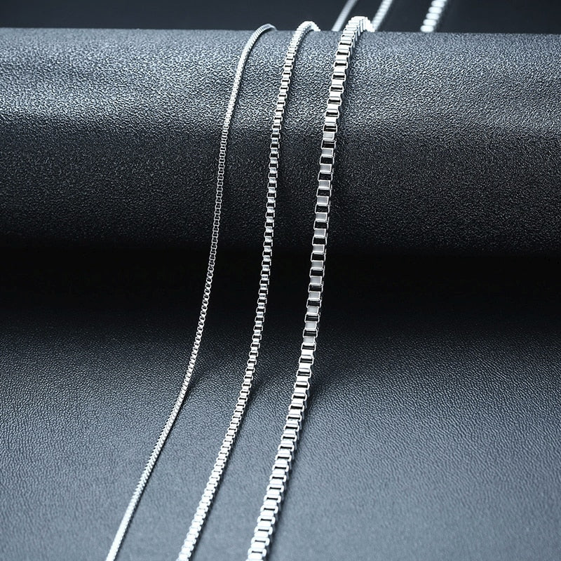 Stainless Steel Link & Ingo Chain Necklace For Men