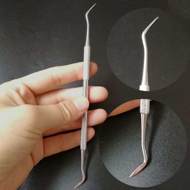 Professional Stainless Steel Tongue Scraper Cleaner For Adults