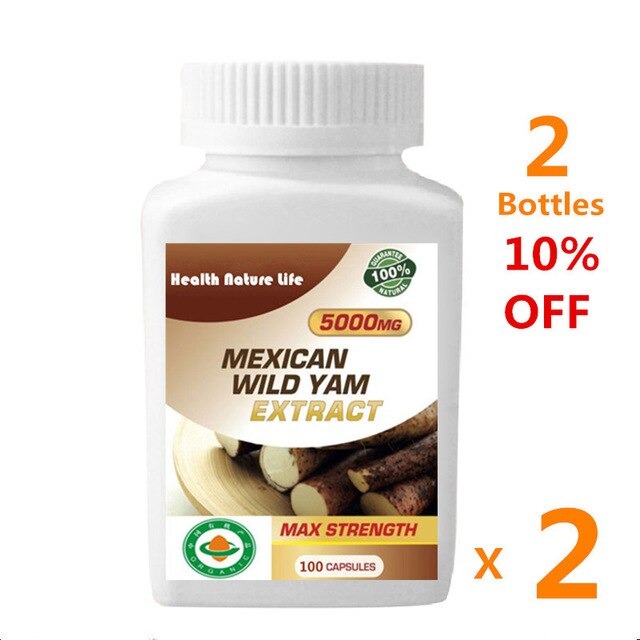 Female Hormone Estrogen Enhance Mexican Wild Yam Extract