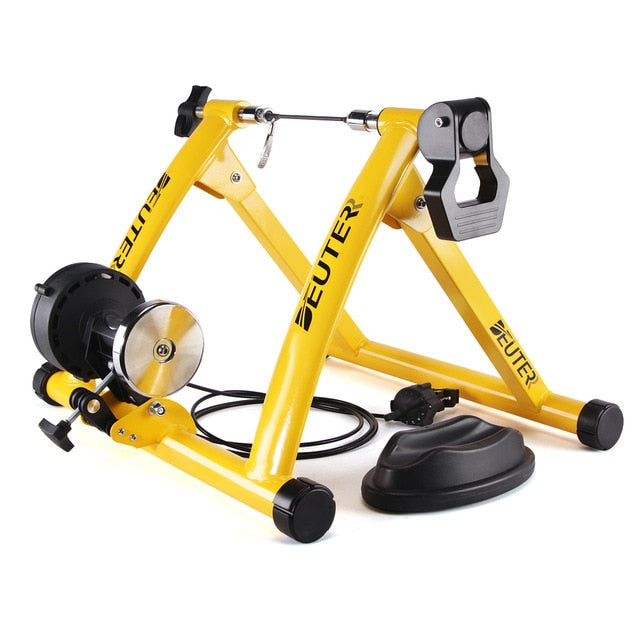 Magnetic Resistance Indoor Exercise Bike Trainer