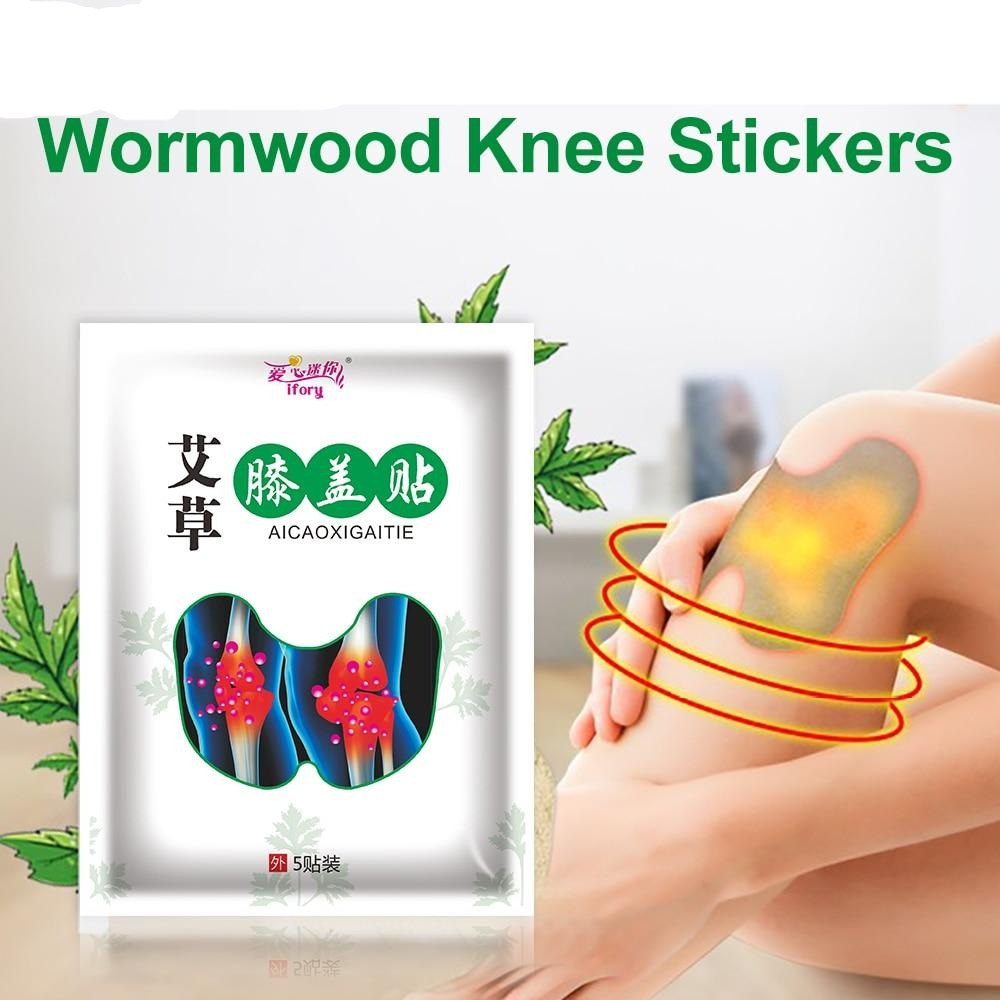 Relief Knee Pain Natural Herbal Wormwood Medical Plaster