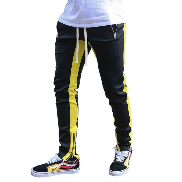 Hip Hop Side Striped Men's Pencil Pant