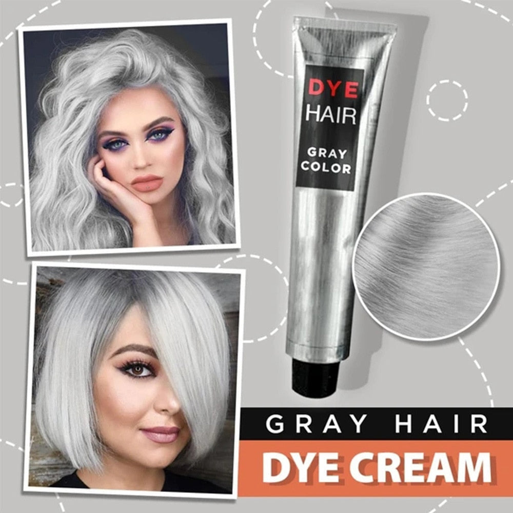 Hair coloring gray