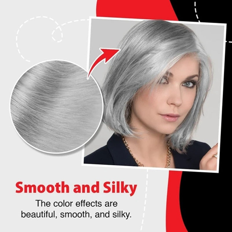 Unisex Nature Gray Hair Dye Cream