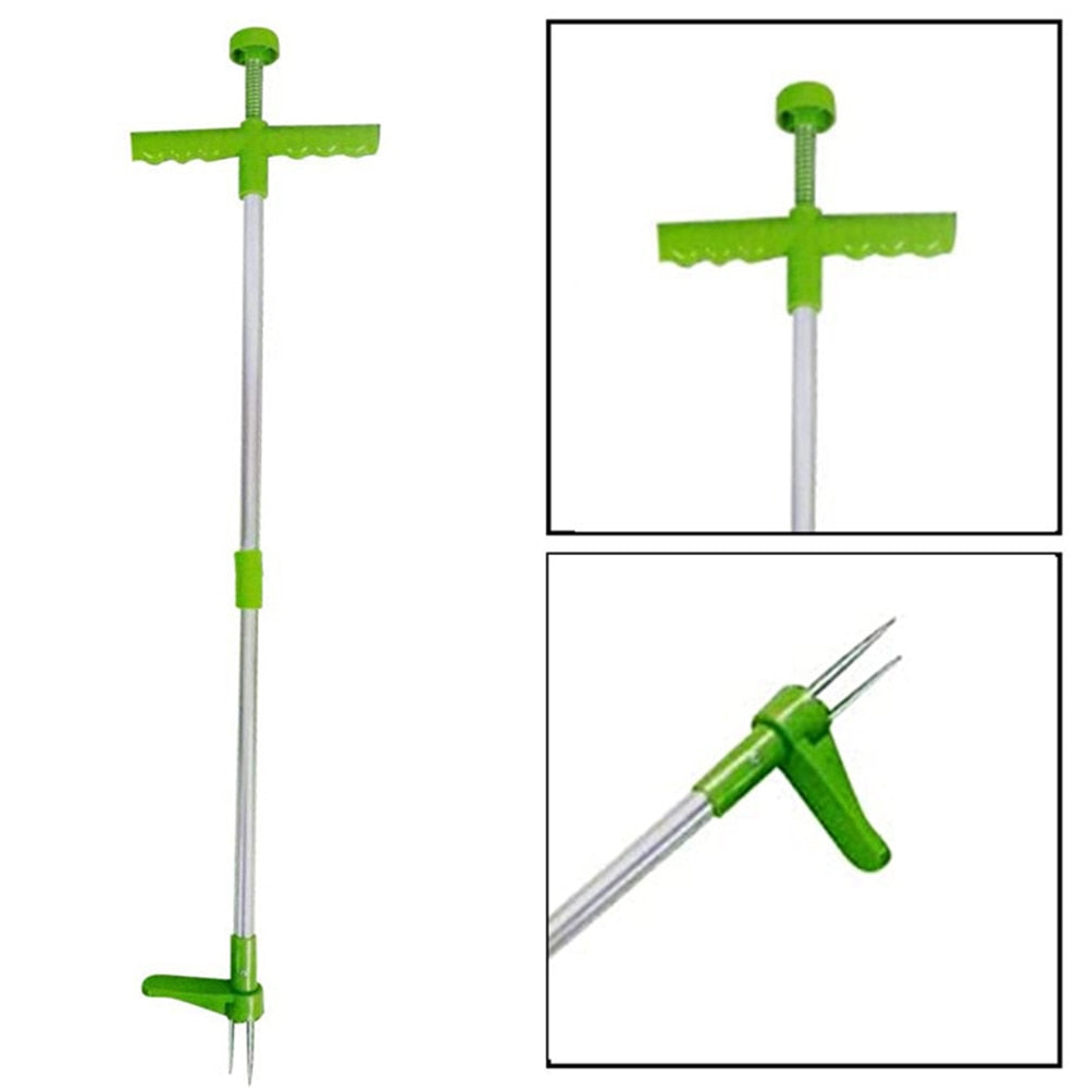 Durable Long Handle Weed Remover & Garden Grass Root Puller