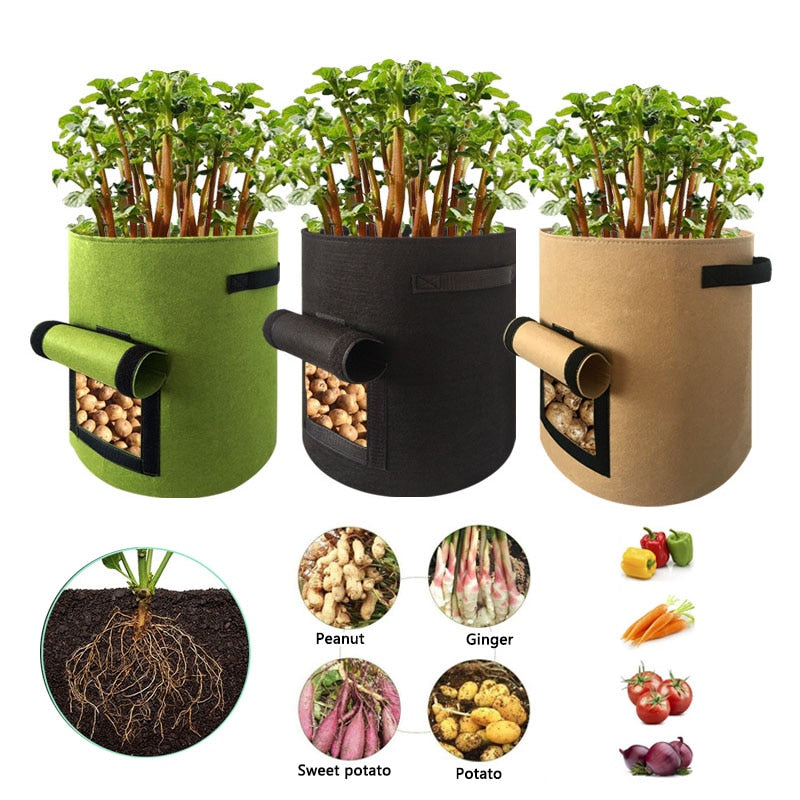 Potato Pot & Plant Grow Bags