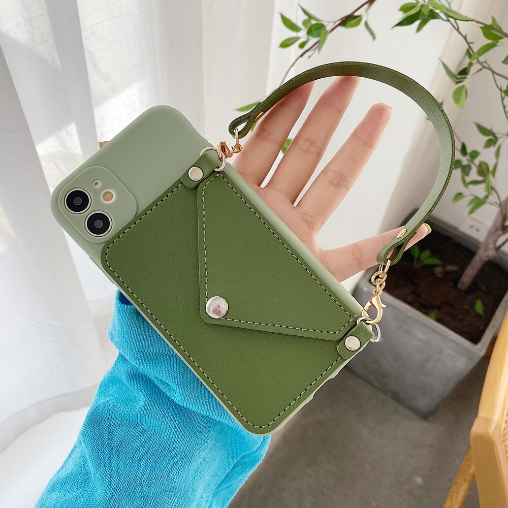 Portable Slung Wallet Case For Huawei Devices