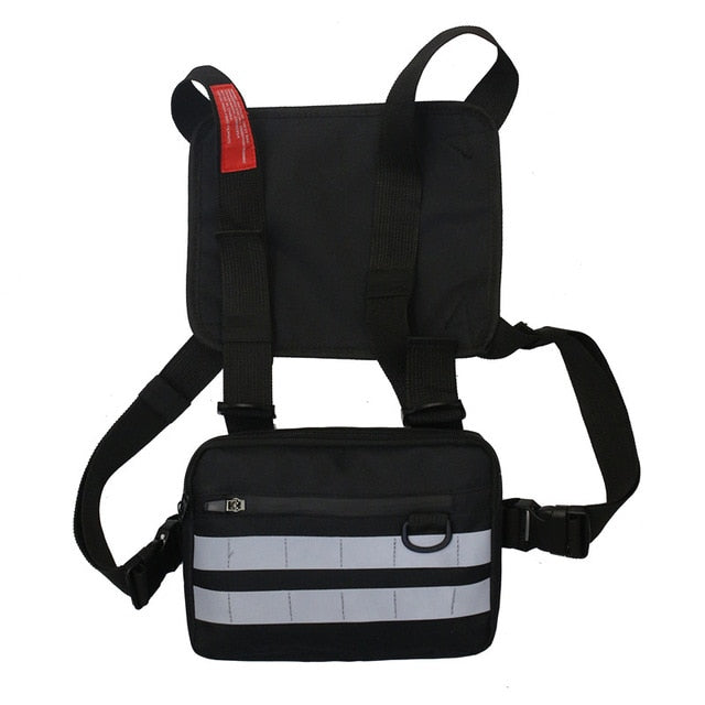 Hip Hop Style Unisex Punk Crossbody Chest Bags