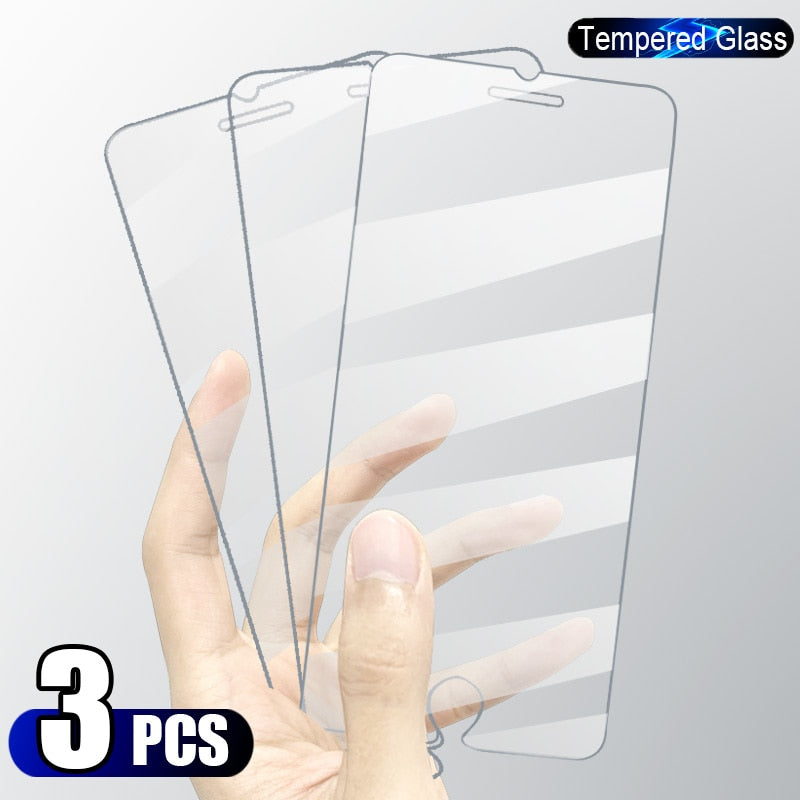 Tempered Glass Screen Protector On iPhone Devices