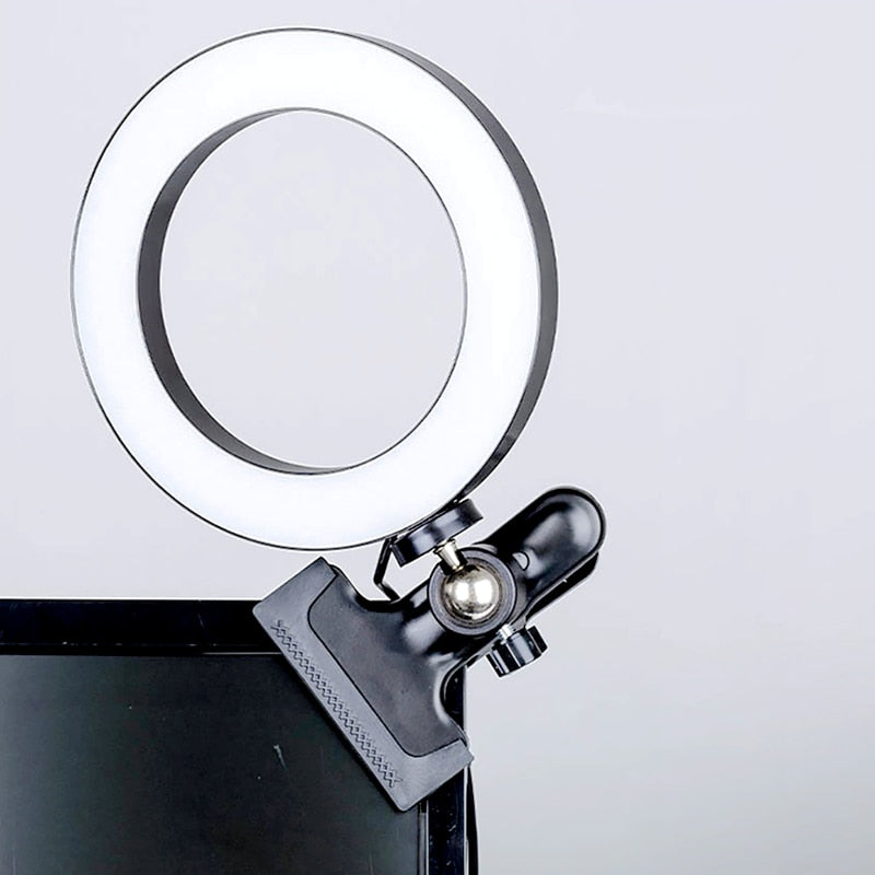 Selfie LED Lamp Ring Light With Stand For Mobile Phone
