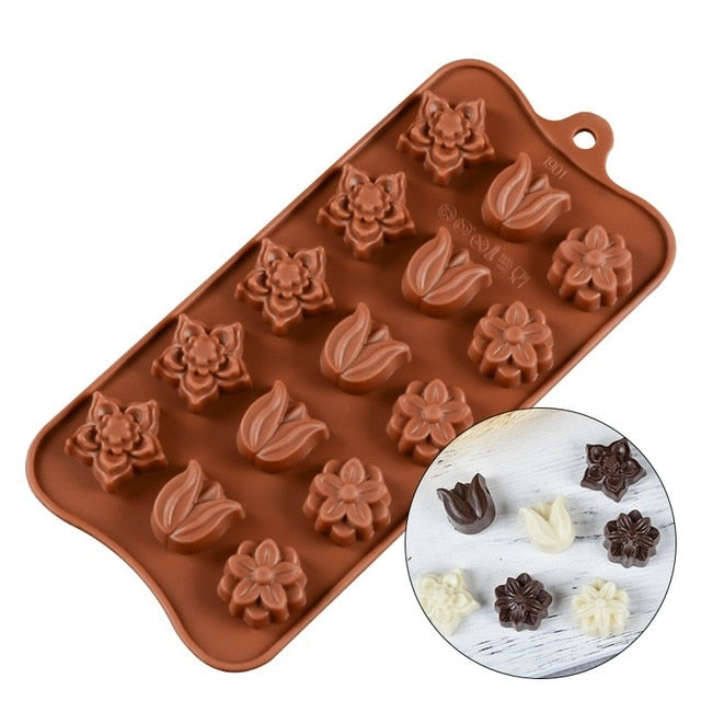 3D Silicone Candy & Chocolate Molds