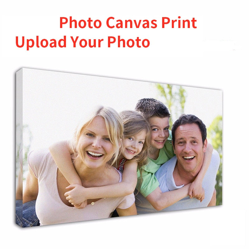 Customized Photo Turn Into On Canvas Painting
