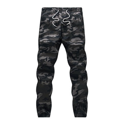 Camouflage Cotton Military Pencil Pant For Men
