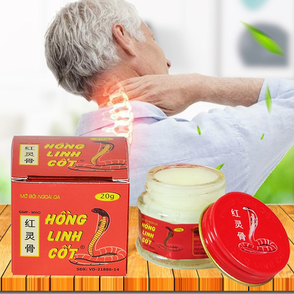 Vietnam Snake Venom Poison Packache Pain Relief Cream