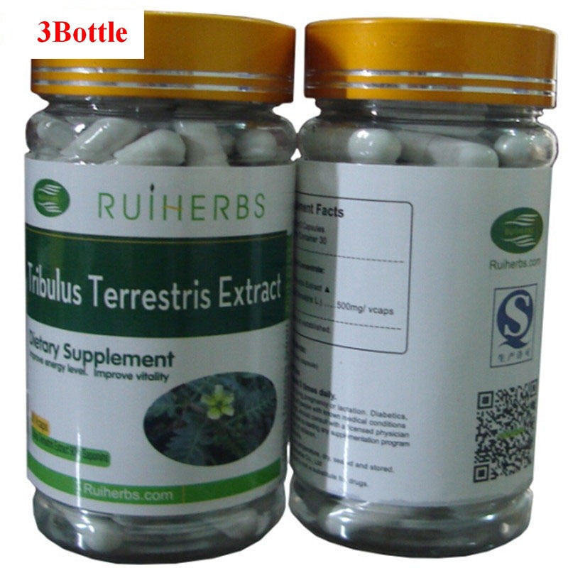 Dietary Supplement Tribulus Terrestris Extract 90% Saponins Capsules